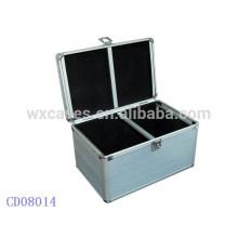 Caixa de CD CD 200 discos de alumínio Fabricante, China