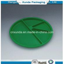 Placa de plástico com divisores