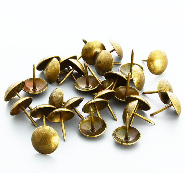 11.5x17mm Antique brass upholstery nails