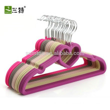 Customized high quality velvet hangers