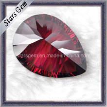 Высококачественная гранатовая груша Millennium Cut Cubic Zirconia