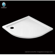 Hot sell bathroom Sector Corner acrylic Shower tray