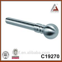 C19270 barra elegante de la cortina del cromo de la alta calidad, accesorios eléctricos del poste de la cortina