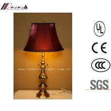 European Style Antique Brass Residential Bedside LED Lighting