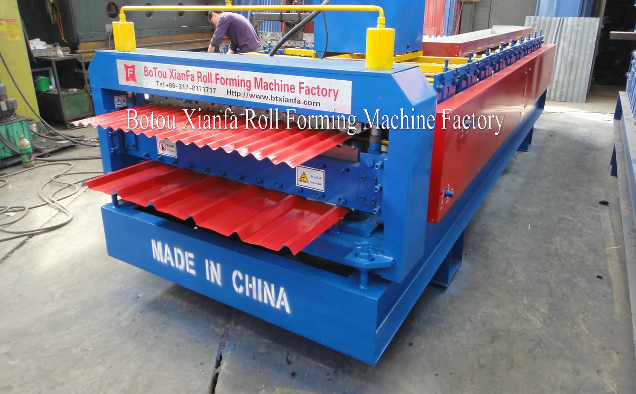 double layer water wave and IBR forming machine