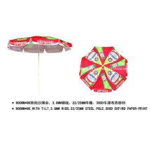 Im Freien kippen Machanism, das faltbaren Strandschirm (YSBEA0027) annonciert