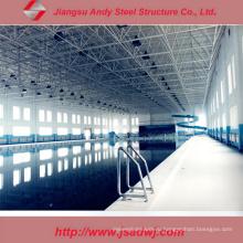 Конструкция Легкая стальная конструкция для крытого крыла плавательного бассейна