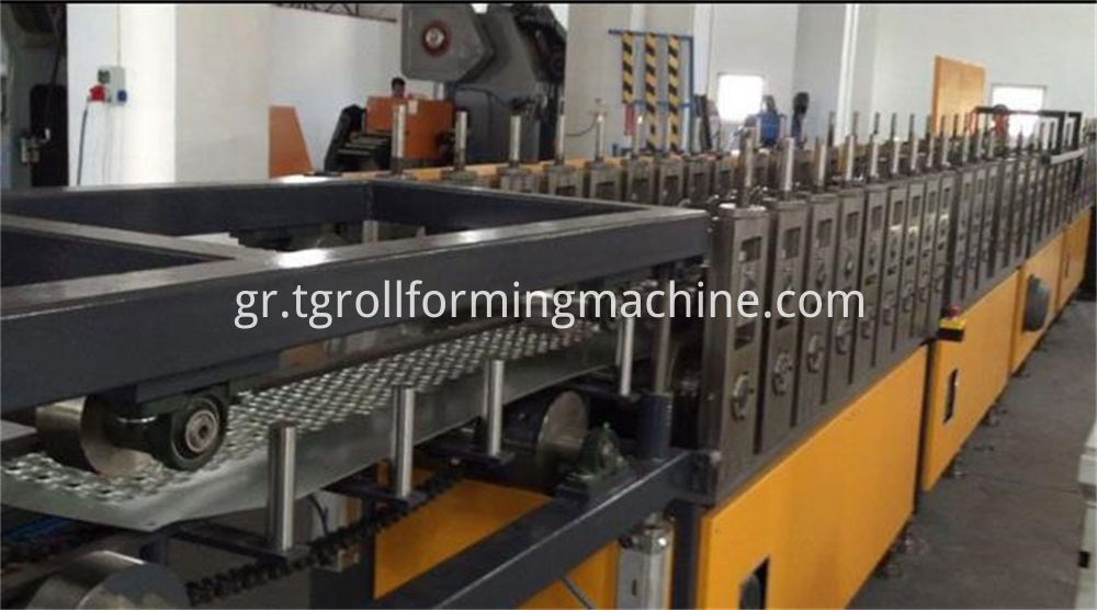 Scaffolding Board Roll Forming Machine