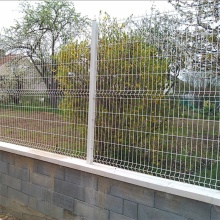 pvc coated electric galvanized welded wire fence
