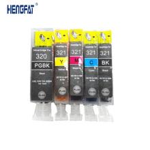 PGI320 CLI321 , Compatible ink cartridge PGI-320 CLI-321 for IP3600 IP4600 MP540 620/630/980 JAPAN