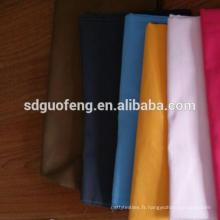 Doux handfeel TC 80% polyetser 20% coton Soild teints tissu / shirting tissu