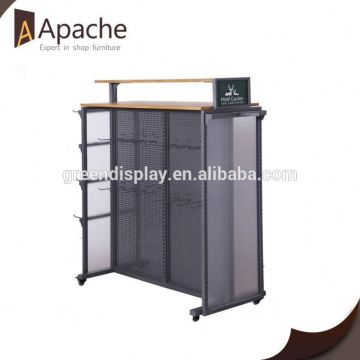 Long lifetime painting cardboard display racks for toy