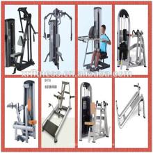 Força máquina sentado linha permanente máquina de remo multi ginásio equipamentos