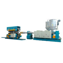 Double wall plastic big caliber drain pipe production line
