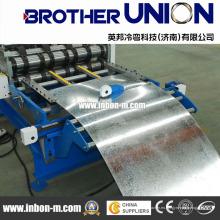 Máquina para fabricar tejas de aluminio completamente automática