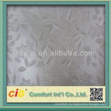 Tela del cuero artificial del PVC del diseño fino del grano de la moda