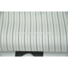 Wholesale estoque regular 100% cupro stripe forro de tecido