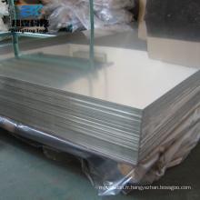 Alliage laminé à chaud plaine feuille de diamant en aluminium 6061 t6 prix par kg 6101 plaque d'aluminium