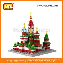 LOZ Производство алмазных строительных блоков Успенский собор Воспитательные детские игрушки (арт. № 9375)