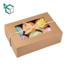 Alibaba 2017 nouveau design FSC papier de qualité alimentaire fait euro marché pas cher prix cupcake boîtes