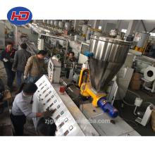 Produktionslinie für Holz-Kunststoff-Verbundsäulen