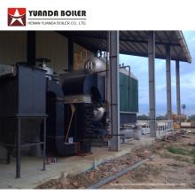 Caldera de pellets de combustible de madera para la línea de producción de yuca