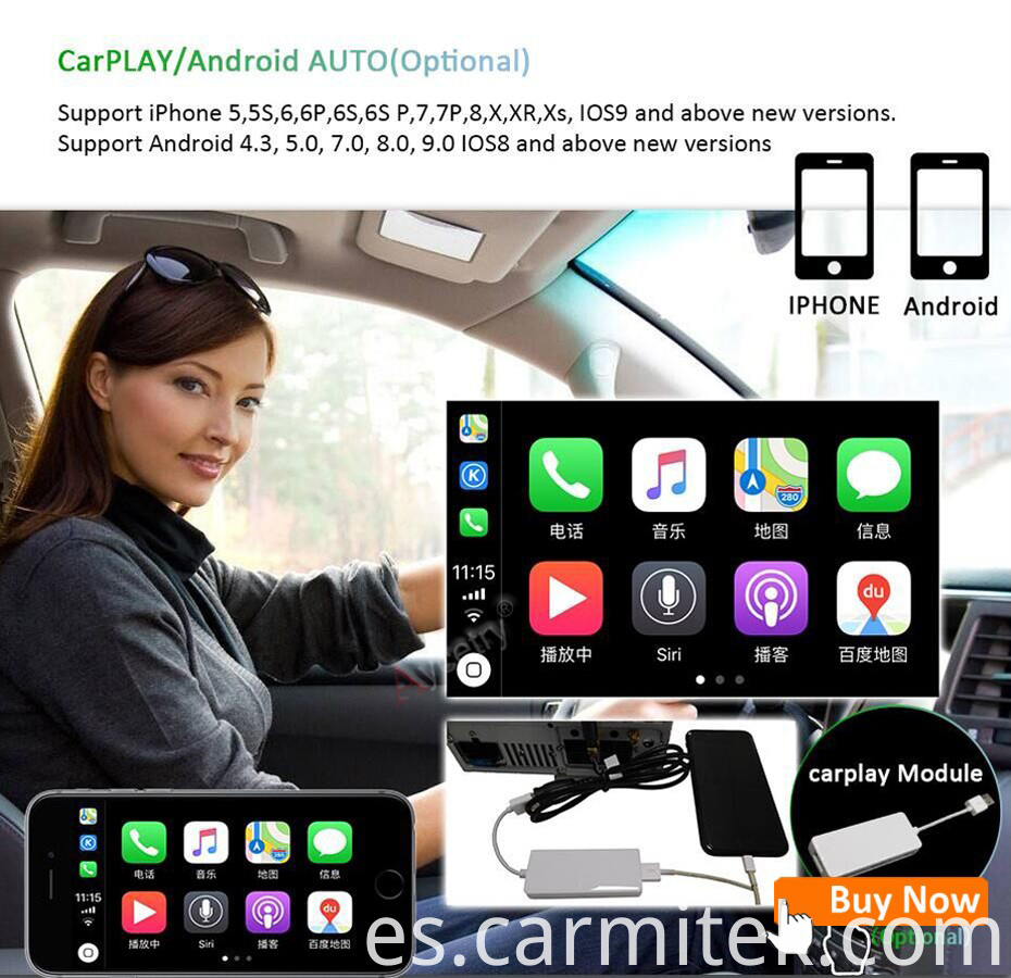 carmitek car play for android multimedia