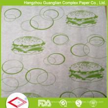 Multi-Purpose Food Grade Non-Stick Printed Silicone Parchment Paper for Oven Baking