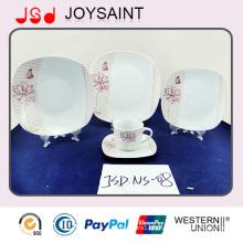 18PCS/19PCS/20PCS China Supplier Bone China Dinner Plate for Hotel Usage