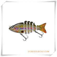 Regalos promocionales para 6 señuelos de pesca articulados (OS21004)