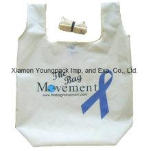 Promotioanl Custom Экологичный 190t полиэстер Складная хозяйственная сумка