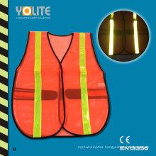 CE En13356 Reflective Safety Vest, Safety Warning Vest for Sport