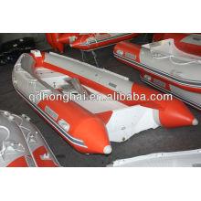 RIB boat fiberglass hull HH-RIB420A with CE