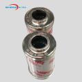 Elemento de filtro de cartucho de filtro de aceite hidráulico