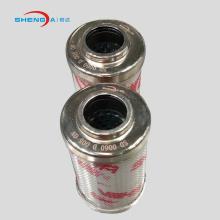 Hydraulic oil filter cartridge filter element