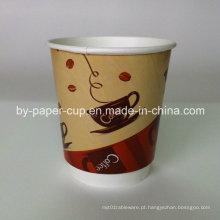 Take Away de Multicolor personalizado de copos de papel populares