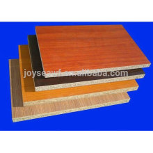 colored melamine laminated particle board in sale