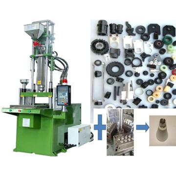 Máquina de moldeo por inyección de un solo resbalador para ajuste de plástico