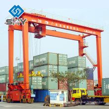 La double poutre RMG 35 tonnes conteneur mobile a utilisé la grue de portique à vendre