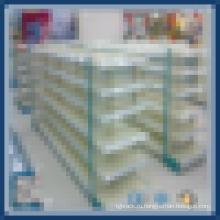 Легкая установка полки супермаркетов