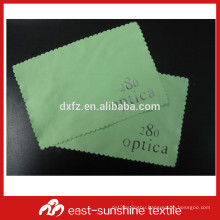 custom personalized microfiber lens cleaning cloth with logo embossed