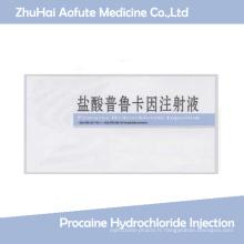 Injection de chlorhydrate de procaine