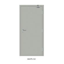 Высококачественная противопожарная дверь (WX-FPS-102)