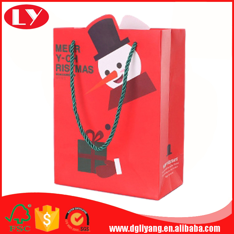Christmas paper gift bags LY2017042607-110