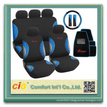 Polyester knit car seat cover