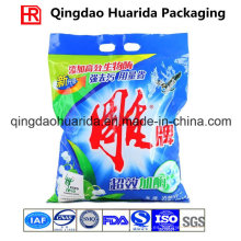 Bolsa de envasado de detergente plano sellado posterior sellado