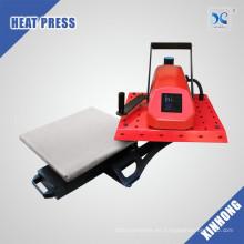 Aprobación de CE / Rohs mini cajón de la máquina de la prensa del calor del oscilación de HP3805 disponible