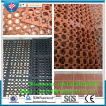 Anti Fatigue Colorful Drainage Rubber Kitchen Mat Rubber Door Mat