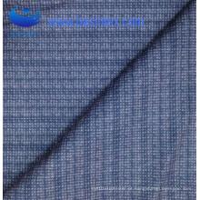 Tecido azul suave de poliéster macio decorativo (BS8133-2)