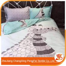 Mode 100% Polyester Tier bedruckt Bettwäsche zum Verkauf